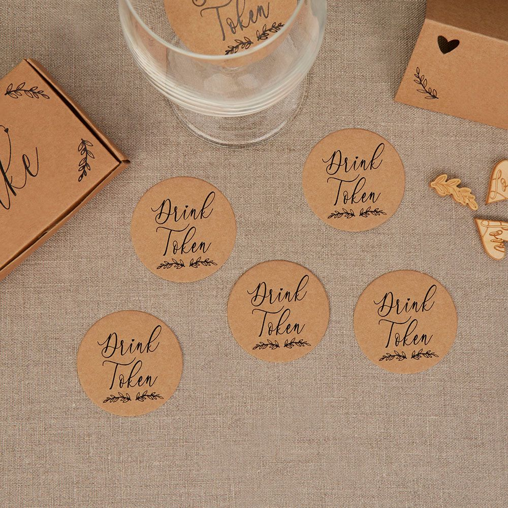 Kraft Drink Tokens